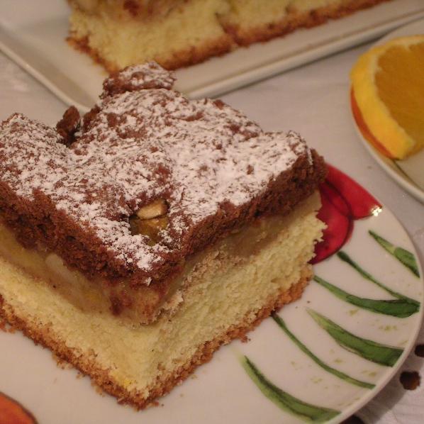 Ciasto jabłkowo-pomarańczowe