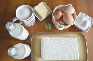 Produkty do masy serowej