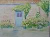 Błękitne drzwi